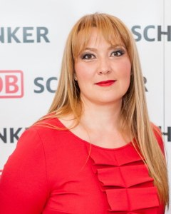 Andreea Ciulacu, HR Manager DB Schenker Rail Romania