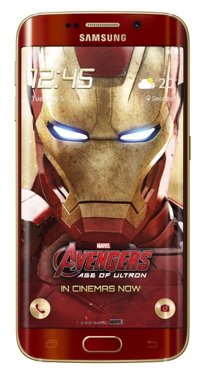 Galaxy S6 edge Iron Man Limited Edition_1