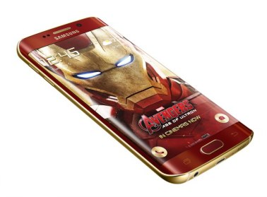 Galaxy S6 edge Iron Man Limited Edition_3