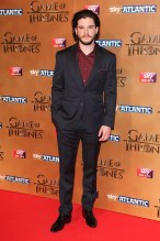 Kit Harington wearing Burberry tailoring to the UK Premiere of 'Game Of Thrones' at the Tower of London, 18th March 2015 466774628 copy