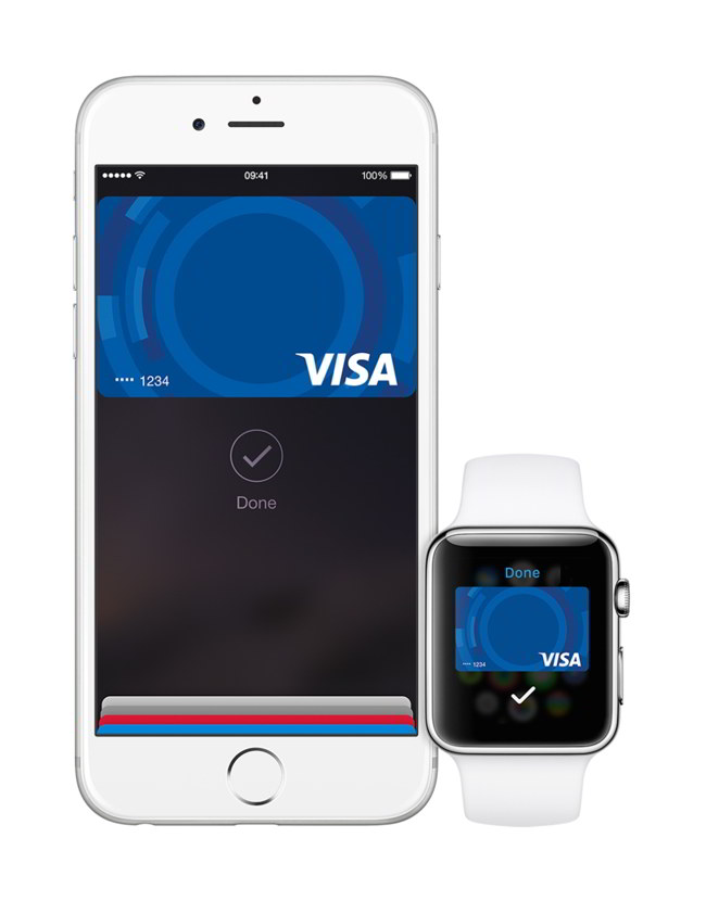 iPhone-watch-Visa-card