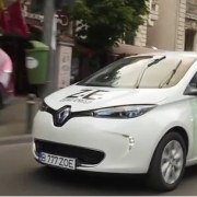 Curse eco friendly cu Renault Zoe și Uber – VIDEO