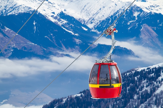 Ski Resort Zell am See - Austria