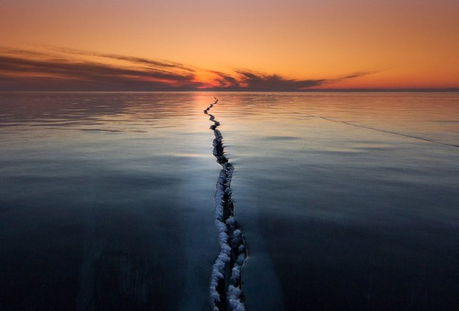 2 Cracking The Surface, Lake Baikal