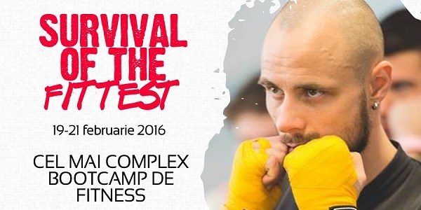 "Ești gata pentru bootcamp-ul de fitness ""Survival of the fittest""?"