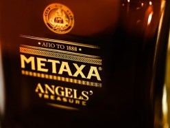 METAXA ANGELS' Treasure - Close-up on the Decanter