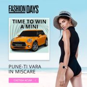 "Fashion Days oferă un Mini în campania ""Time to Win"""