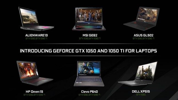 CES 2017: Plăcile video GeForce GTX 1050 și GTX 1050 Ti sunt disponibile pe laptopuri