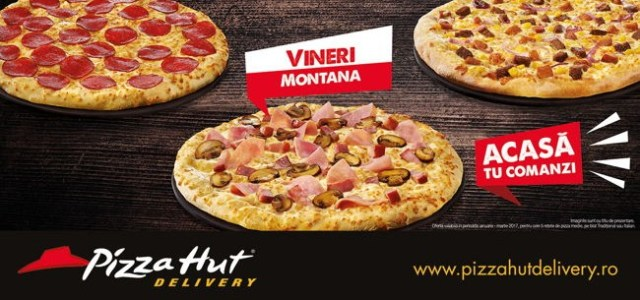 Pizza Hut Delivery lansează oferta Pizza of the Day la un preț special