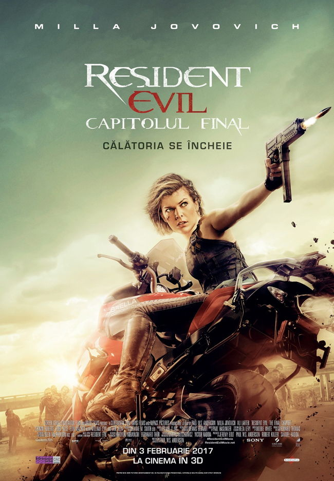 afis Resident Evil The Final Chapter