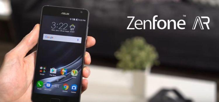 Asus lansează ZenFone AR, primul telefon cu AR (realitate augmentată) și VR (realitate virtuală)