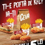 CEVA de la KFC pe locul întâi în Top 3 ADC*RO luna Martie