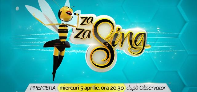 "Show-ul de karaoke ""Za Za Sing"", din 5 aprilie la Antena 1!"