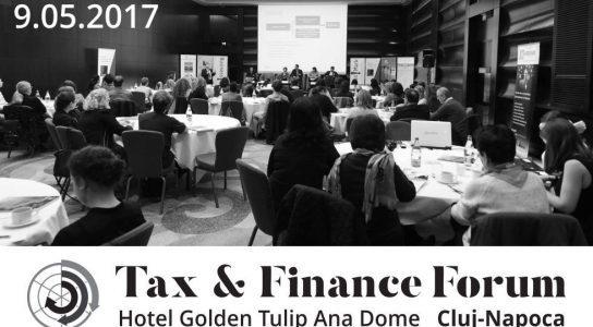 """BusinessMark: Conferința de taxe și fiscalitate, """"Tax & Finance Forum"""" pentru prima dată la Cluj-Napoca"""