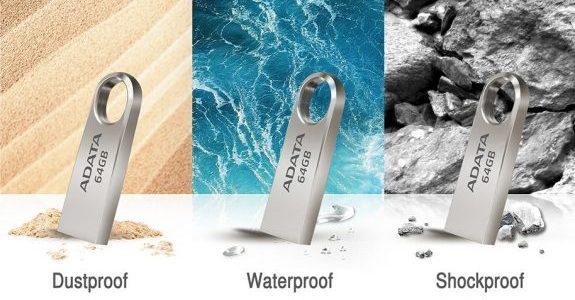 Noul ADATA Flash Drive USB – UV310esterezistent la praf, șocuri și apă