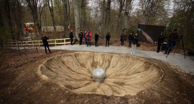 Meteorit extrem de rar descoperit pe teritoriul României, prezentatla Dino Parc Râșnov