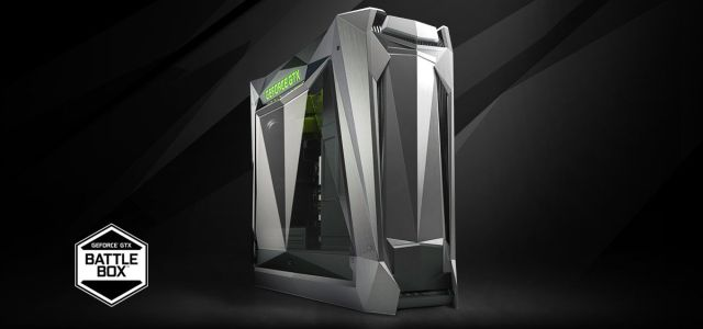 NVIDIA lansează două sisteme GeForce GTX Battlebox