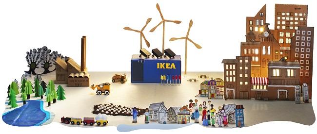 IKEA, vânzări anuale de 34,1 miliarde euro