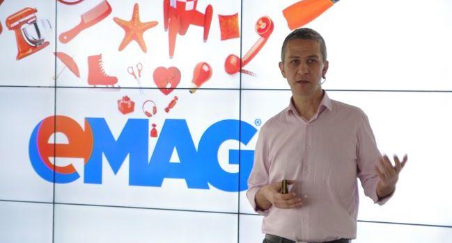 eMAG, afaceri de 2,02 miliarde lei în România