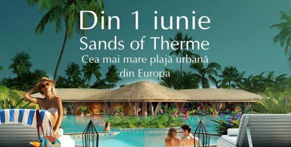 Therme inaugurează cea mai mare plajă urbană din Europa!