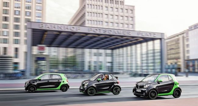 Smart Fortwo Coupé și smart Forfour electric drive, pregătite de lansare