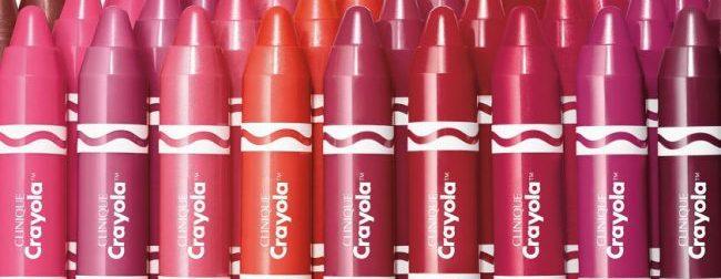 Clinique anunță colaborarea cu Crayola și lansează Clinique Crayola Chubby Stick