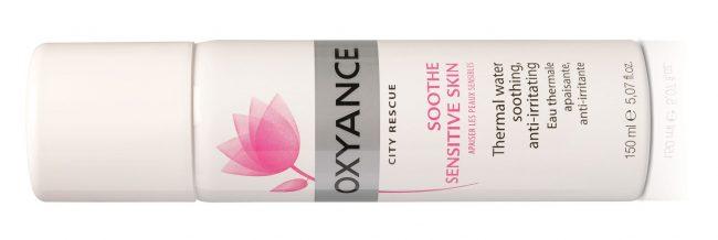 Oxyance City Rescue împrospătează și calmează pielea sensibilă