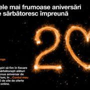 Orange oferă cadou clienților 20 GB/lună, timp de 2 luni