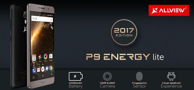 Allview lansează P9 Energy Lite 2017