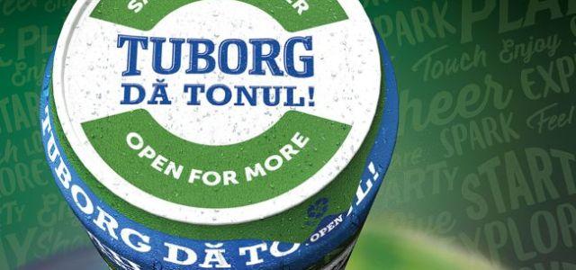 Tuborg pune folie de protecție din aluminiu peste dozele de bere