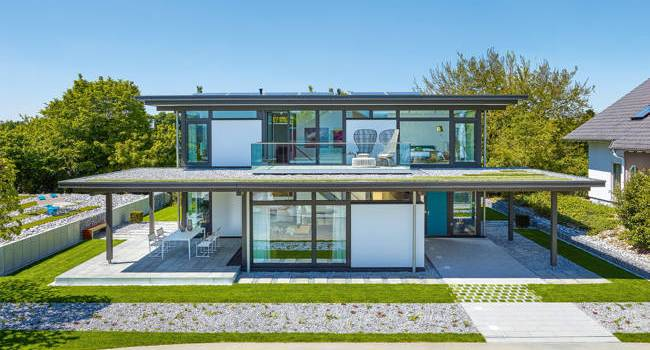 Cum arată casa viitorului, dezvoltată de HUF HAUS în Germania – FOTO