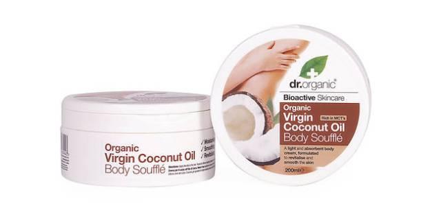 Dr. Organic a creat gama Virgin Coconut Oil