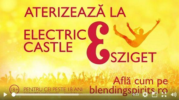 JJ&B te trimite la Electric Castle şi Sziget Festival!