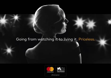 Mastercard, sponsor al Festivalului de Film de la Veneţia