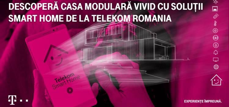 Telekom și Vivid prezintă prima casă modulară inteligentă din România