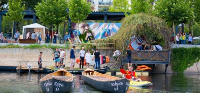 Debarcaderul Verde = concerte pe malul apei, seri de filme, plimbari cu barca pe Dambovita – Galerie FOTO