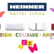 HEINNER lansează o nouă gamă de aparate de aer condiționat