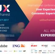 Speakeri de top la UX Bucharest 2017 – Conferinţa Internaţională de User Experience Design, 2nd Edition