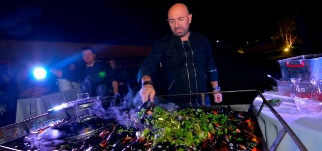 Ilie Nastase si Brigitte Sfat au gustat din scoicile lui Chef Scarlatescu!