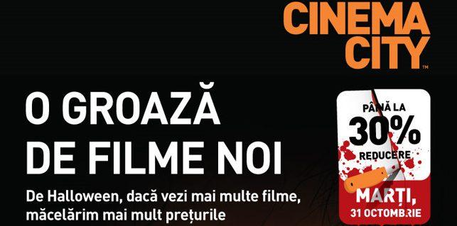 Cum arată Halloween-ul la Cinema City?