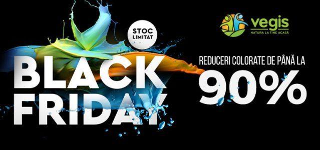 Reduceri până la 90% de Black Friday la produse naturiste de pe Vegis.ro, pe 17 noiembrie