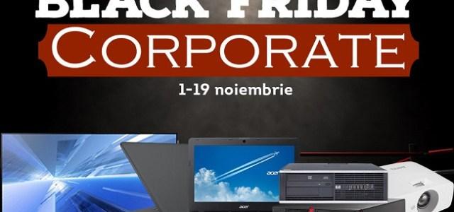 evoMAG organizează Black Friday şi pentru companii