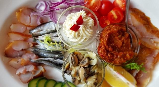 Pește, pește și … cheesecake cu cremă de dovleac la Cherhanaua Ancora!