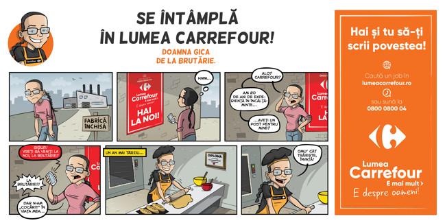 Carrefour România lansează o nouă campaniede brand de angajator