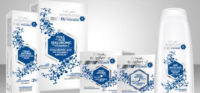 Farmec lansează o nouă gamă sub umbrela brandului Gerovital – H3 Hyaluron C