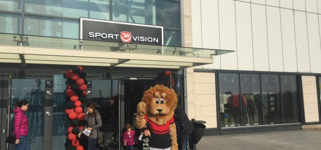 Colosseum Retail Park te aşteaptă cu un nou magazin: Sport Vision