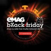 Ce oferte promite eMAG de Black Friday 2017