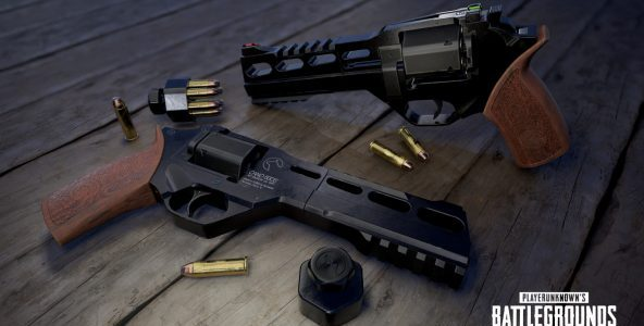 PUBG dispune de o nouă armă, revolverulR45