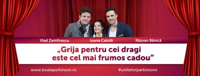 """Asociația de Luptă Împotriva Bolii Parkinson și Teatrul """"Nottara"""" lansează campania""""Grija pentru cei dragi este cel mai frumos cadou"""""""