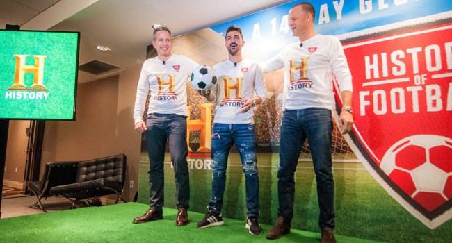 """""""Istoria fotbalului"""", în premieră la HISTORY"""
